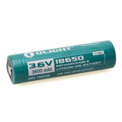 Olight 18650 Lítium-ion akkumulátor 3600mAh