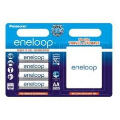 Panasonic Eneloop 12xAA 1900mAh akku + időzítős töltő