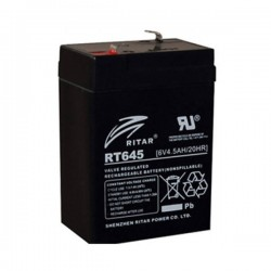 Ritar RT645 zselés akkumulátor 4,5Ah 6V