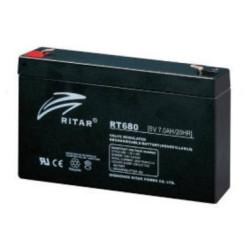 Ritar RT680 zselés akkumulátor 8,0Ah 6V