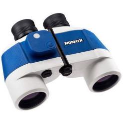 Minox BN 7x50 C II (kék/fehér) hajóstávcső iránytűvel