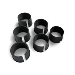 Pard műanyag gyűrű szett