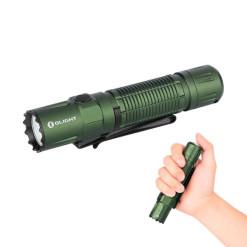 Olight M2R Pro Warrior zöld tölthető zseblámpa