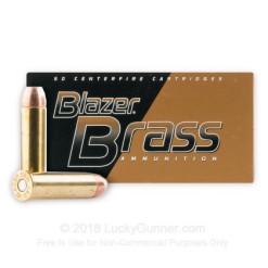 CCI 357Mag JHP 158gr Blazer Brass