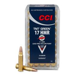 CCI 17 HMR TNT Green 16gr