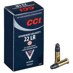 CCI .22 LR Standard 40gr