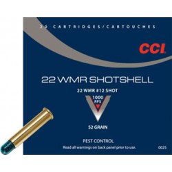 CCI .22WinMag Shotshell 52gr
