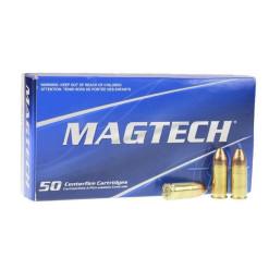 Magtech 9x19mm LUGER 124gr FMJ