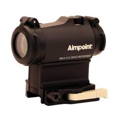 Aimpoint Micro H-2 2MOA, 39 mm emeléssel, gyorsoldású LRP...