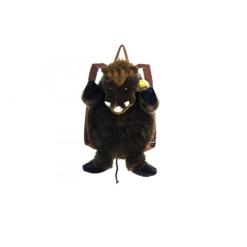 Plüss vaddisznós hátizsák