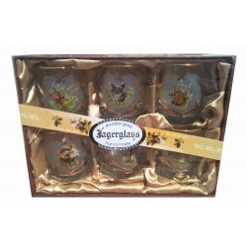 Jagerglass whiskey pohár szett 6db 250ml