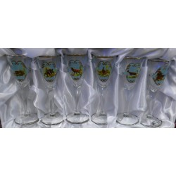 Jagerglass pezsgős pohárkészlet 250ml
