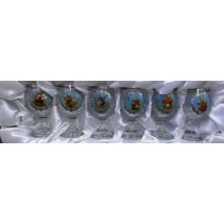 Jagerglass likőrös pohárkészlet 30ml