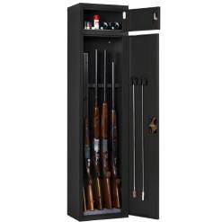 Artemisz® Minőségi fegyverszekrény 5 fegyver (fekete)