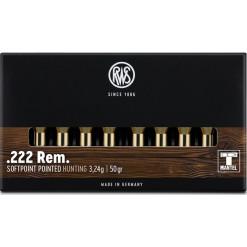 RWS TMS 222 Rem 3,24g 50gr