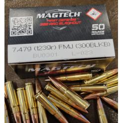 Magtech 300AAC Blackout 7,47g 123gr golyós lőszer